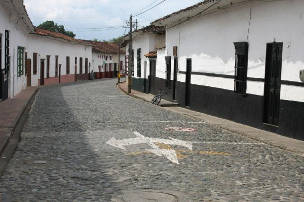 One of the cobbled streets of Santa Fé de Antioquia | Santa Fé de Antioquia | Colombia