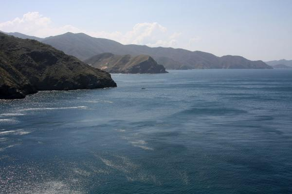 Picture of Taganga (Colombia): Coastline of Tayrona National Park near Taganga