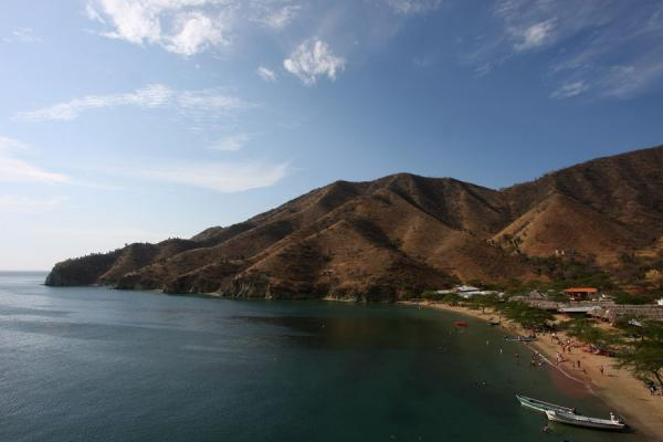 Coastline of Playa Grande near Taganga | Taganga | Colombia