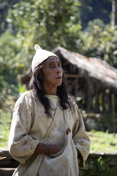 The Mamo of the Kogi, residing right next to Ciudad Perdida | Teyuna | 哥伦比亚