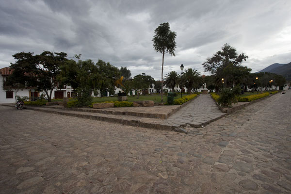 Photo de Square at Parque Principal in Villa de LeyvaVilla de Leyva - Colombie