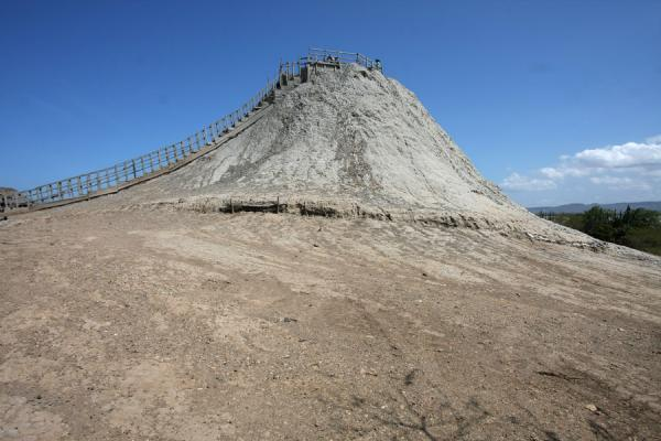 The Totumo mud volcano seen from a distance | Totumo Volcano | Colombia