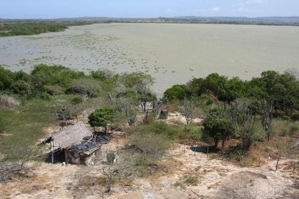 Ciénaga del Totumo, the lagoon behind the volcano where the mud can be washed off | Totumo Volcano | Colombia