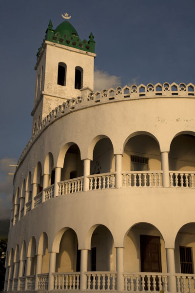 Picture of Looking up the old Friday mosque at the waterfront of MoroniMoroni - Comoros