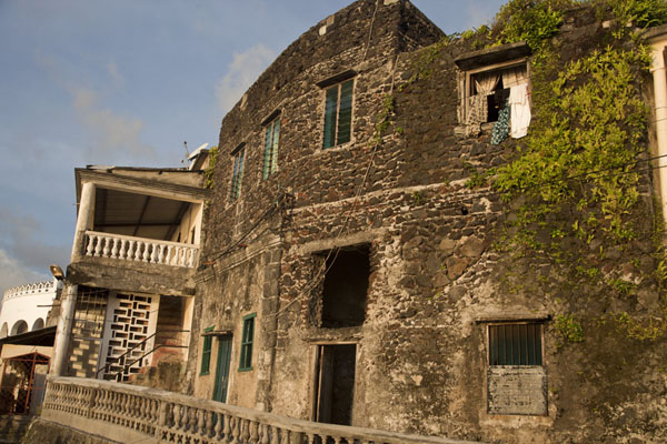 Picture of Old house at the waterfront of MoroniMoroni - Comoros
