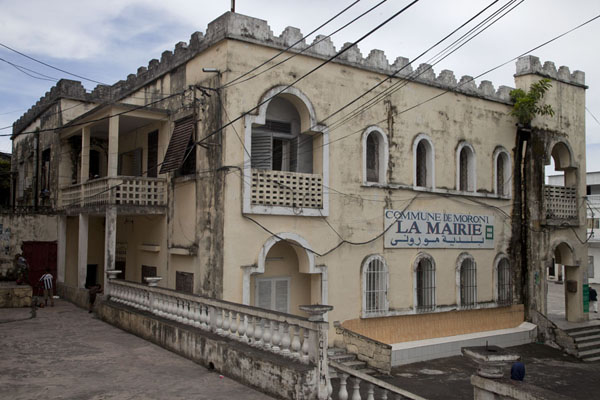 The city hall of Moroni | Moroni old town | Comoros