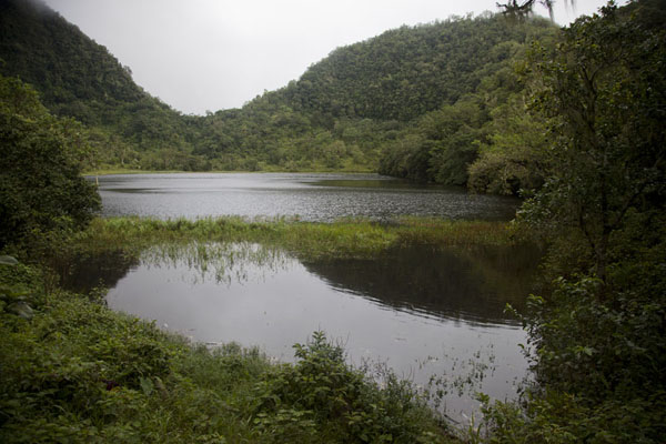 Picture of View of Lake Dzialandzé, the mother of all water on Anjouan island