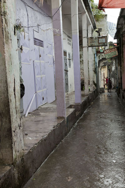 Picture of Narrow street in the medina of MutsamuduMutsamudu - Comoros