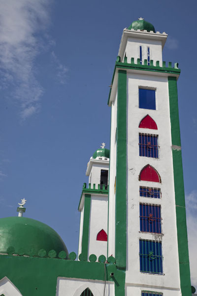 Picture of Two of the minarets of the Grand MosqueBrazzaville - Congo