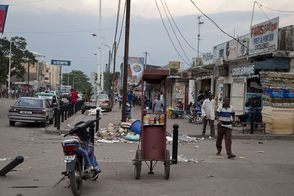 Picture of Brazzaville (Congo): One of the streets of Brazzaville