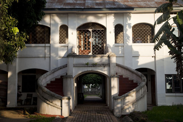Picture of Colonial building in Brazzaville, currently housing the Swedish consulate