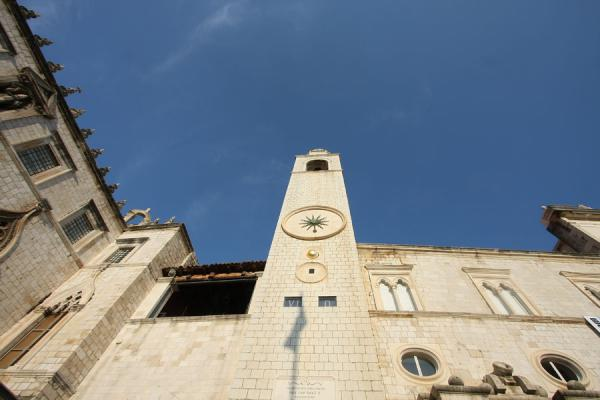 Foto van The Clock tower of DubrovnikDubrovnik - Kroatië