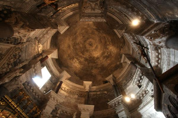 Picture of Originally the mausoleum of Diocletian, converted to cathedral: ceiling of this unique building