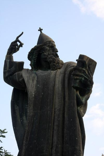 Statue of Gregorius of Nin, a 10th century religious leader who fought for the right to hold mass in Croatian - 克罗埃西雅 - 欧洲