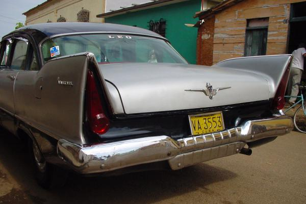 Picture of Cuban cars (Cuba): Old Cuba car