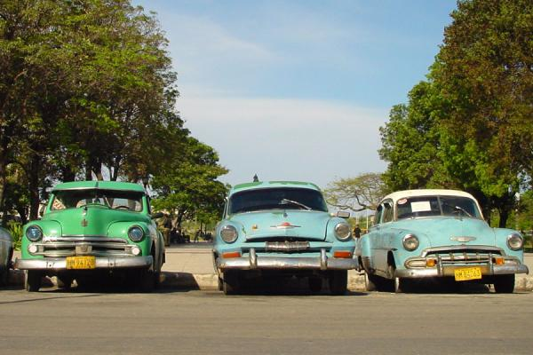 Picture of Cuban cars (Cuba): Old Cuba cars