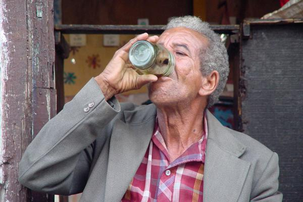 Enjoying a drink | Cuban people | Cuba