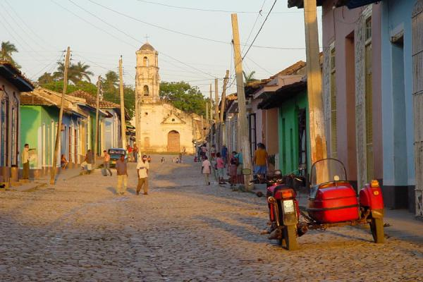Picture of Street in TrinidadCuba - Cuba