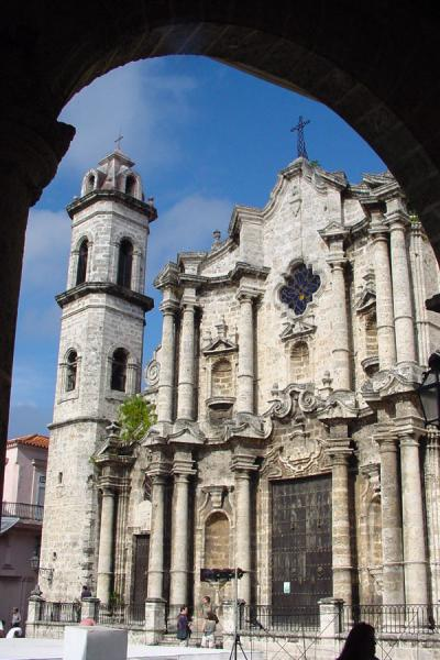 Picture of Cathedral de San Cristobal - Habana - Cuba - Americas
