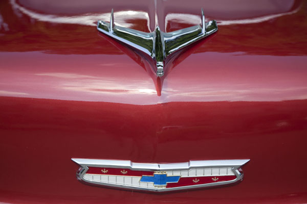 Detailed view of a vintage Chevrolet |  | 古巴