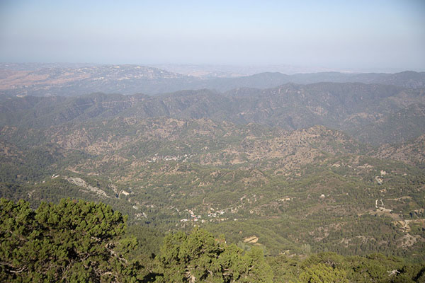 Foto van View from the southwestern side of Artemis trailOlympus - Cyprus