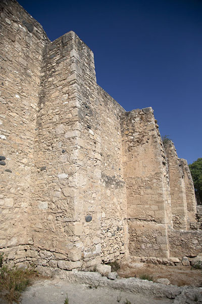 Picture of The thick, buttressed walls of Kolossi Castle - Cyprus - Europe