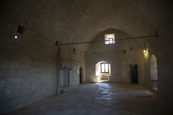 The hall on the second floor of the castle | Castillo de Kolossi | Chipre
