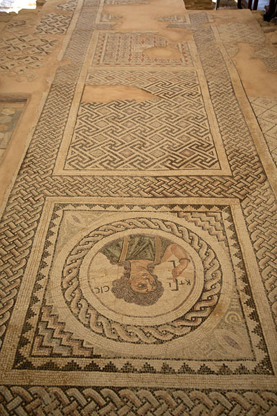 Foto van Large mosaic in the House of EustoliosKourion - Cyprus