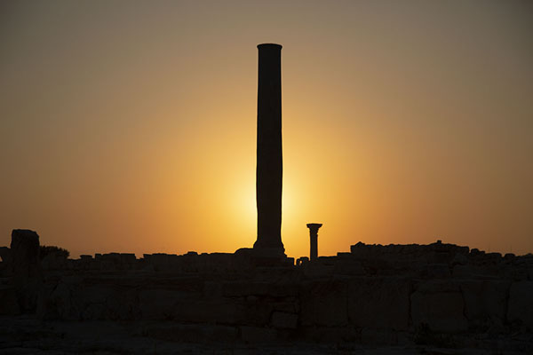 View of sunset over Kourion - 塞浦路斯 - 欧洲