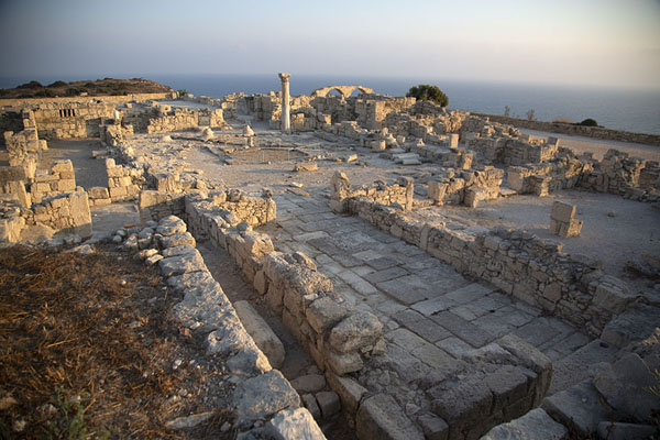 Overview over the episcopal basilica of Kourion | Kourion | 塞浦路斯