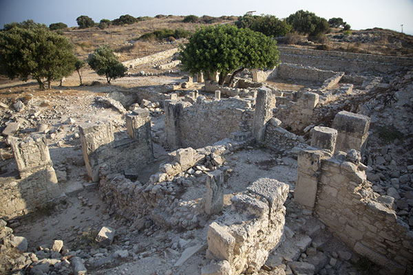 Ruins of a Roman house, destroyed by an earthquake in 365 CE | Kourion | Chypre
