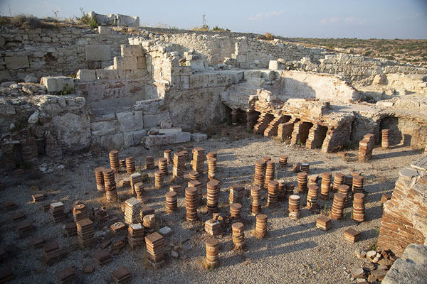 Ruins of thermal baths in Kourion | Kourion | Cipro