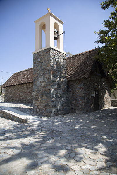 The bell-tower of Palaiochori Agia Sotira tou Soteros church | Painted churches Troodos region | Cyprus