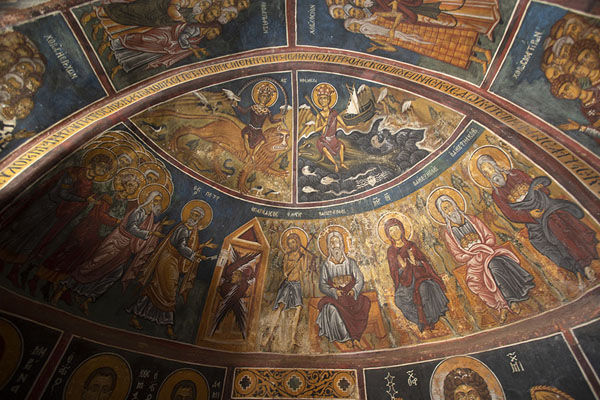 Picture of Vaulted ceiling of Panagia Phorviotissa near NikitariTroodos - Cyprus