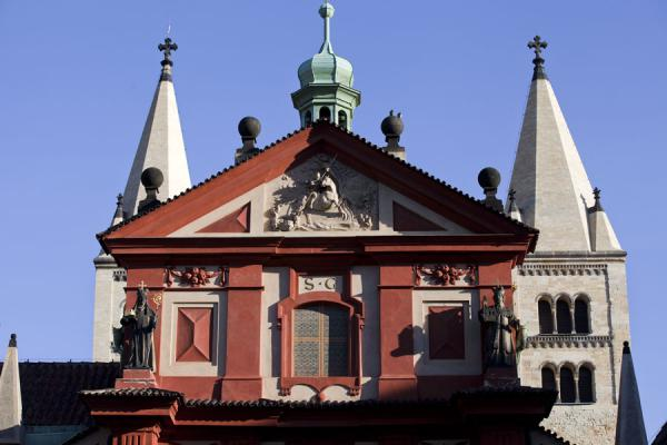 Basilica of St. George is part of Prague Castle | Prague Castle | Czech Republic