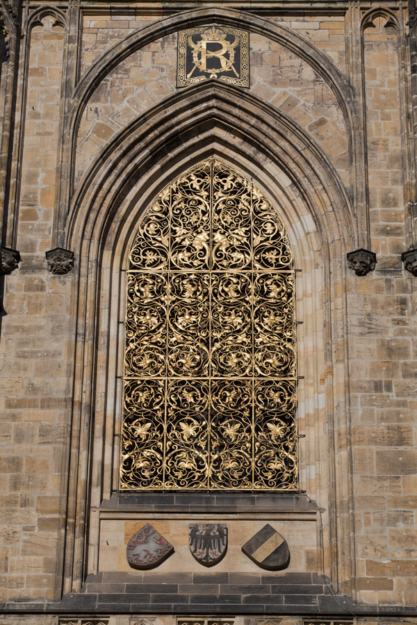 Picture of Golden gate on the outside of St. Vitus CathedralPrague - Czechia