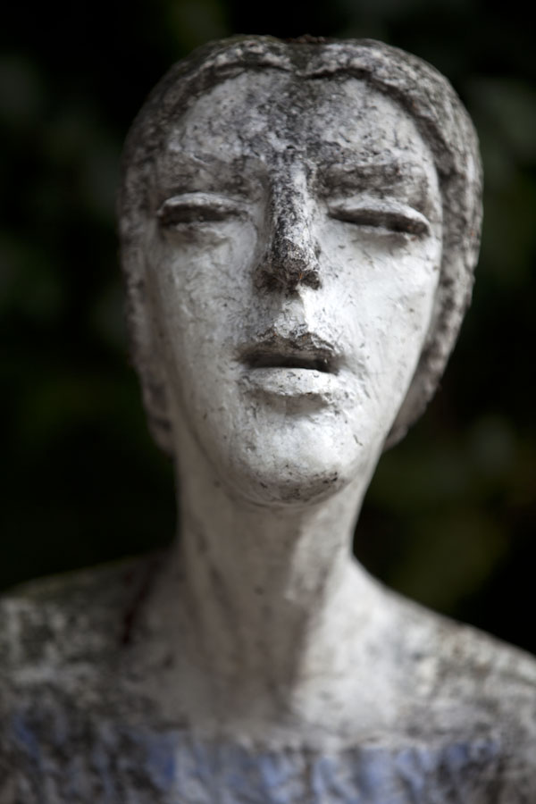 Picture of Female figure sculpted in Vyšehrad cemeteryPrague - Czechia