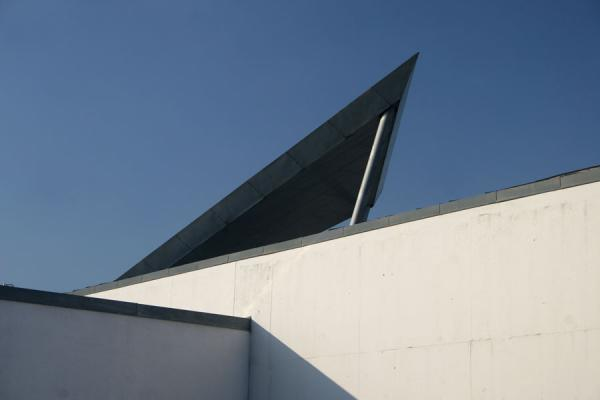 One of the external parts of Arken museum that could be a sail | Arken Museum | Denmark