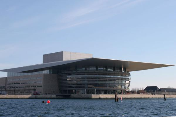 Picture of Copenhagen Waterfront (Denmark): Copenhagen: new opera house in harbour