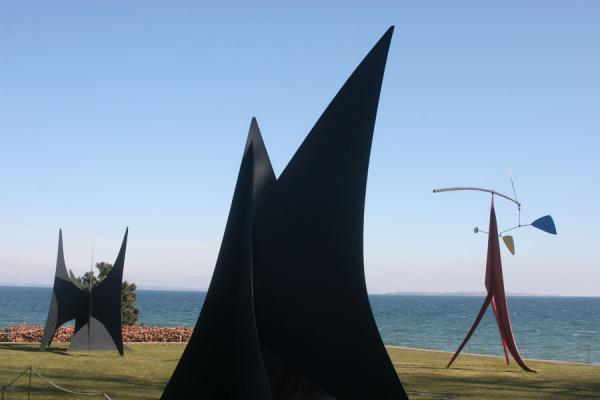 Some of the outside sculptures | Louisiana Museum of Modern Art | Denmark