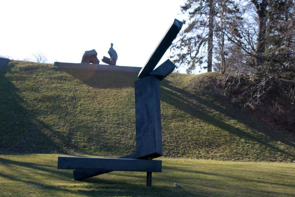 Central sculpture in Louisiana | Louisiana Museum of Modern Art | Denmark