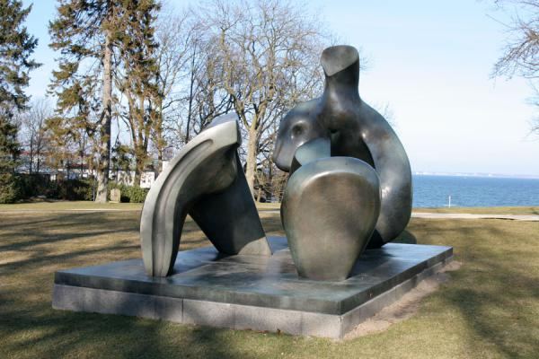 One of the sculptures in the sculpture garden of Louisiana | Louisiana Museum of Modern Art | Denmark