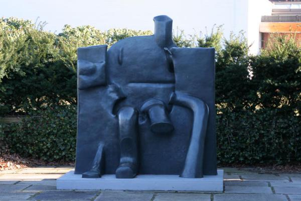 Modern art in garden | Louisiana Museum of Modern Art | Denmark