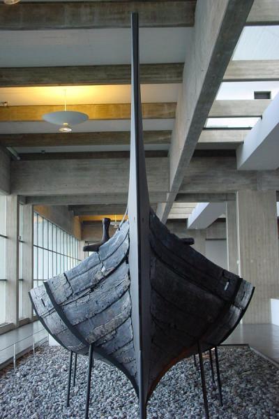 Viking ship in Vikingship museum | Roskilde | Denmark