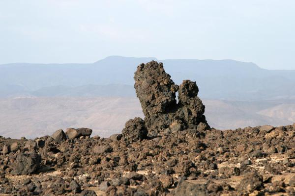 Photo de Lava formation near Ardoukoba VolcanoArdoukoba - Djibouti