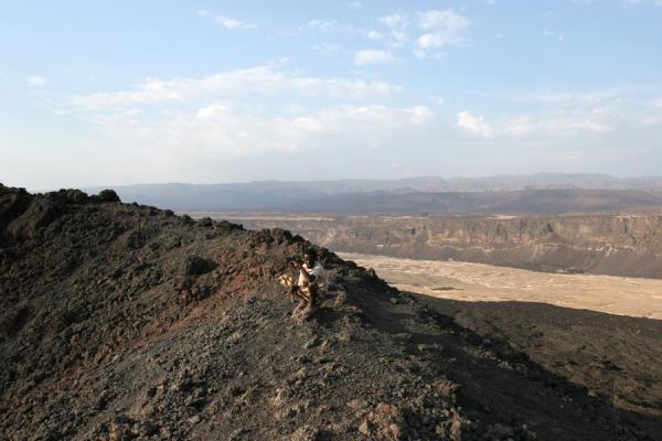 Photo de View from the top of Ardoukoba VolcanoArdoukoba - Djibouti