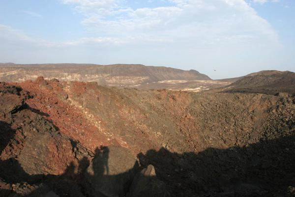 The crater of Ardoukoba Volcano - 吉布地