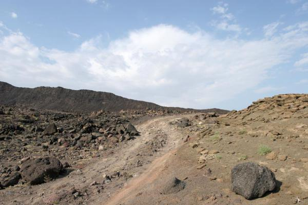 The road leading to Ardoukoba Volcano - 吉布地