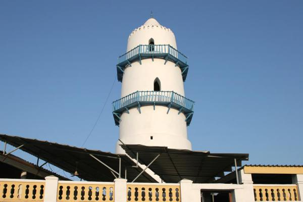 Foto de Minaret of the Grand Mosque of Djibouti townCiudad Yibuti - Yibuti
