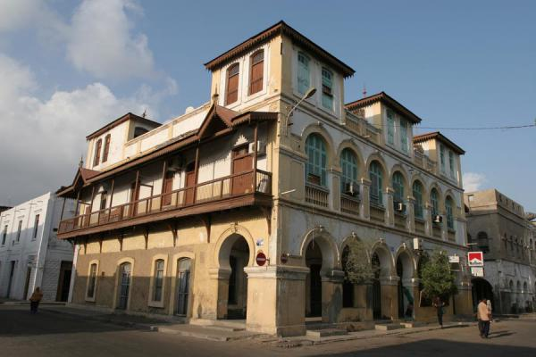 Prominent building on Place Mnlik | Djibouti town | Djibouti